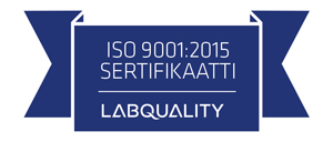 Sertifikaatin logo ISO_9001_Suomi